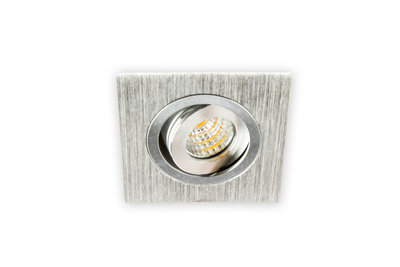 Vierkant dimbare inbouwspot led w aluminium led inbouwspots dimbaar