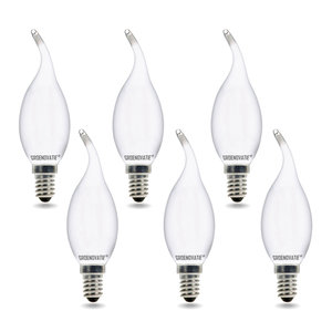 LED filament kaarslampen 6 pack